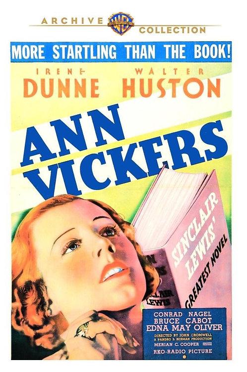 ANN VICKERS (IDEM, 1933)