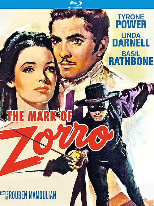 A MARCA DO ZORRO (The Mark of Zorro, 1940) Blu-ray