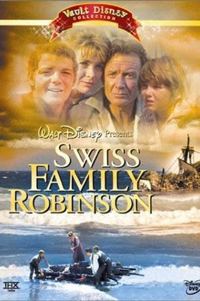 A CIDADELA DOS ROBINSON (Swiss Family Robinson, 1960)