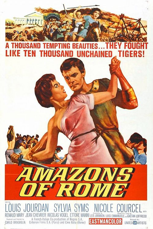 AS VIRGENS DE ROMA (Amazons of Rome, 1961)