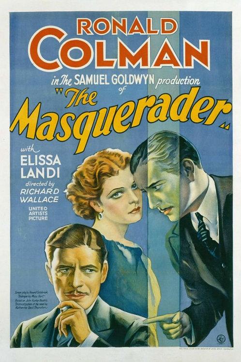 O ACASO É TUDO (The Masquerader, 1933)