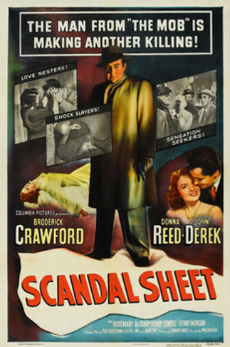 ESCÂNDALO (Scandal Sheet, 1952) blu-ray