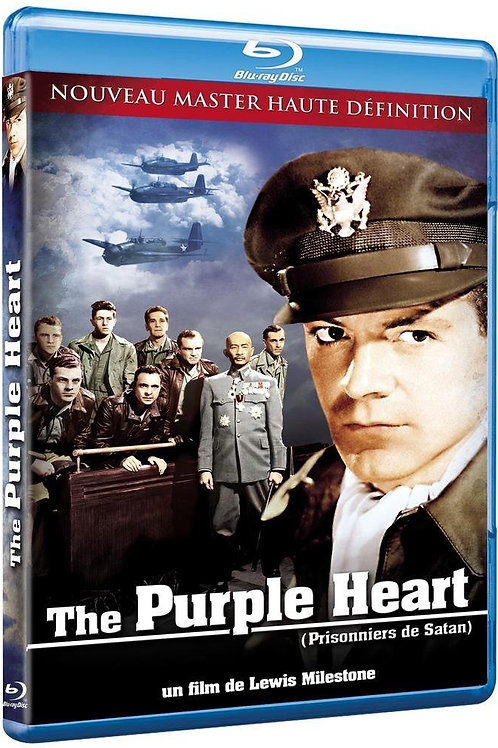 MAIS FORTE QUE A VIDA (The Purple Heart, 1944) Bluray