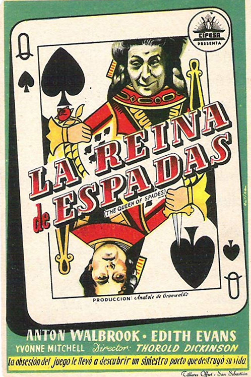A DAMA DE ESPADAS (Queen of Spades, 1949)