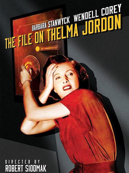 A CONFISSÃO DE THELMA (The File On Thelma.1950)