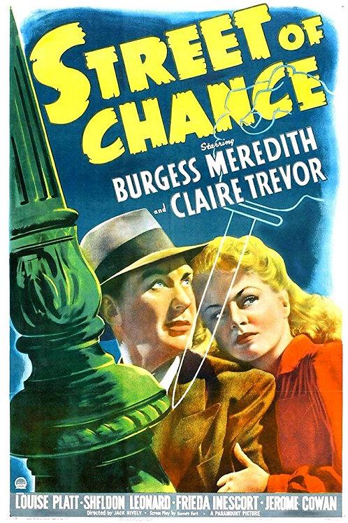 VIDA CONTRA VIDA (Street of Chance, 1942)