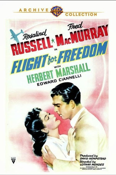 ADEUS, MEU AMOR (Flight For Freedom, 1943)