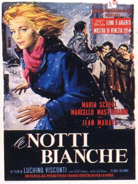 AS NOITES BRANCAS (Le Notti Bianche, 1957)