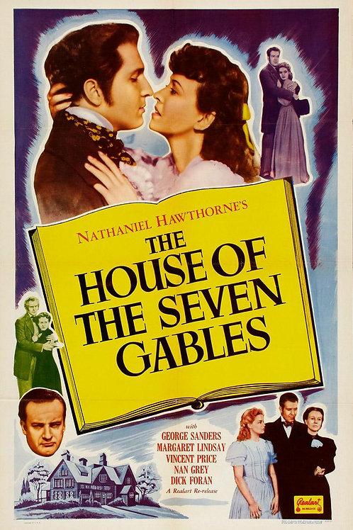 A CASA DAS SETE TORRES (The House of the Seven Gables, 1940)