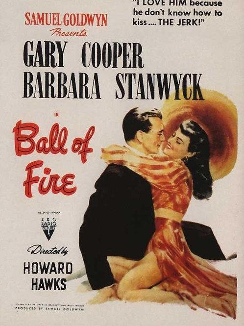 BOLA DE FOGO (Ball of Fire, 1941)