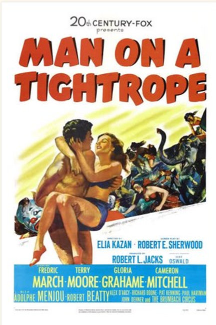 OS SALTIBANCOS (Man on a Tightrope, 1953)