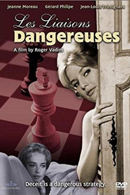 LIGAÇÕES AMOROSAS (Les Liasons Dangereuses, 1960)