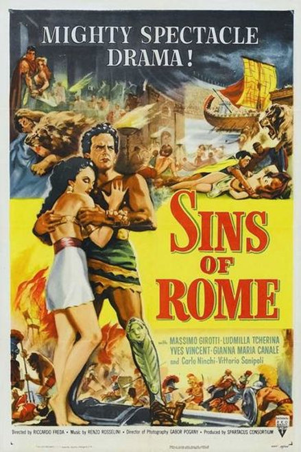 SPARTACO (Sins of Rome,1953)