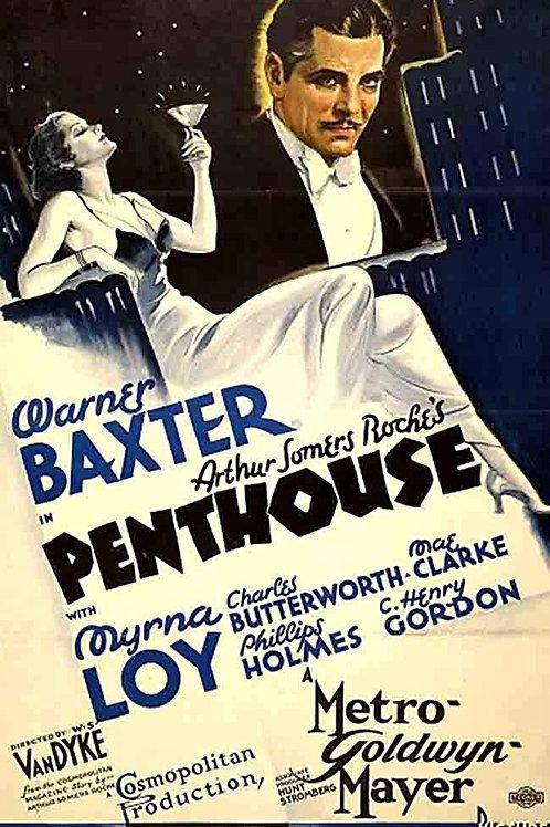 PELA VIDA DE UM HOMEM (Penthouse, 1933)