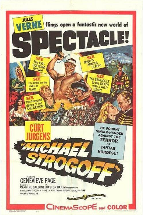 MIGUEL STROGOFF (Michael Strogoff, 1956)