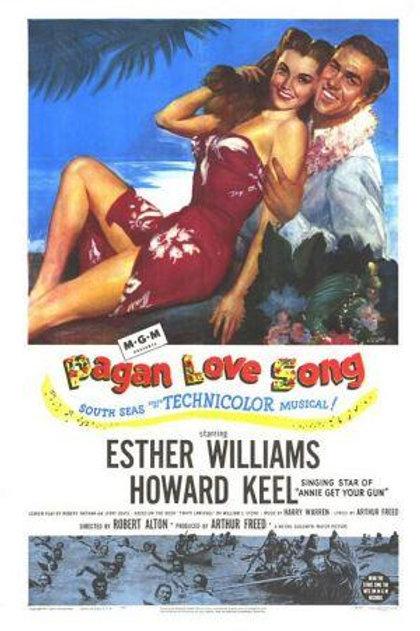 AMOR PAGÃO (Pagan Love Song, 1950)