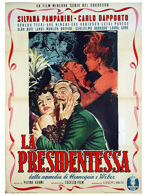 A PRESIDENTA (La Presidentessa, 1952)