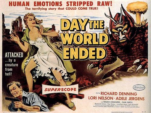 O DIA DO FIM DO MUNDO (Day The World Ended, 1955)