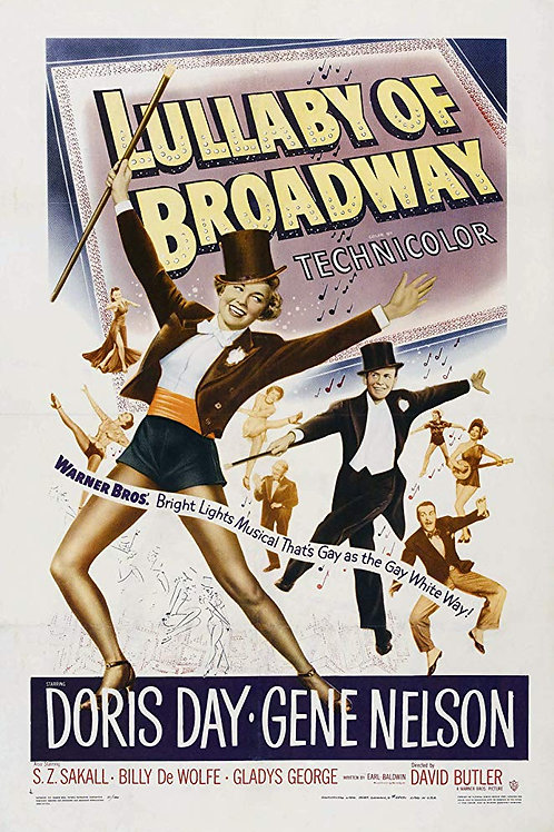 ROUXINOL DA BROADWAY (Lullabye of Broadway, 1951)