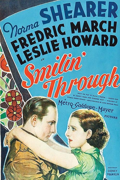 O AMOR QUE NÃO MORREU (Smilin' Through, 1932)