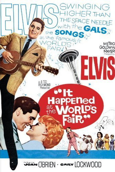 LOIRAS, MORENAS E RUIVAS (It Happened At World's Fair, 1963) Bluray