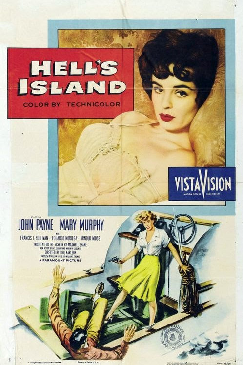 A ILHA DO INFERNO (Hell's Island, 1955)