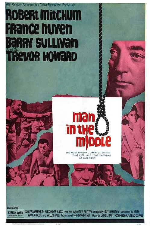 AS DUAS FACES DA LEI (Man In The Middle, 1963)