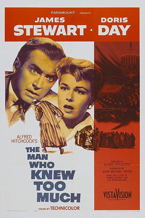 O HOMEM QUE SABIA DEMAIS (The Man Who Knew Too Much, 1956)