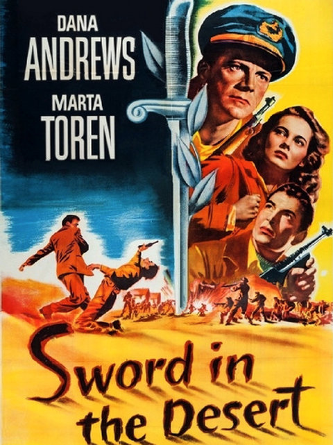 ADAGAS NO DESERTO (Sword In The Desert, 1949)