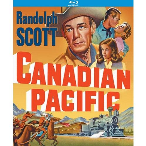 DEVASTANDO CAMINHOS (Canadian Pacific, 1949) BLU-RAY