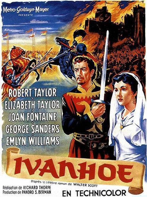 IVANHOÉ, O VINGADOR DO REI (Ivanhoe, 1952)