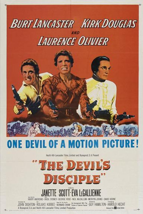 O DISCÍPULO DO DIABO (The Devil's Disciple, 1959)