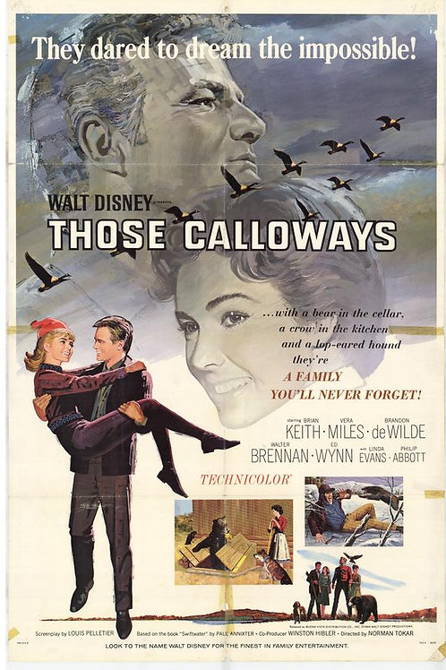 SOMENTE OS FRACOS SE RENDEM (Those Calloways, 1965)