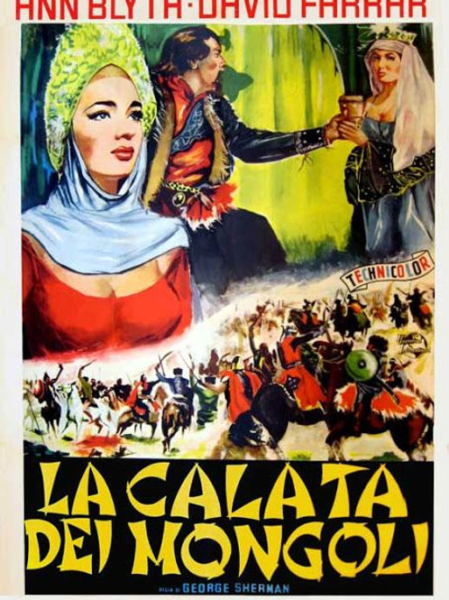A PRINCESA E OS BÁRBAROS (The Golden Horde, 1951)