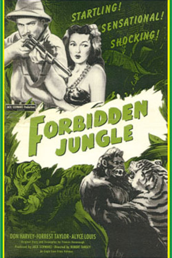 SELVA PROIBIDA  (Forbidden Jungle, 1950)