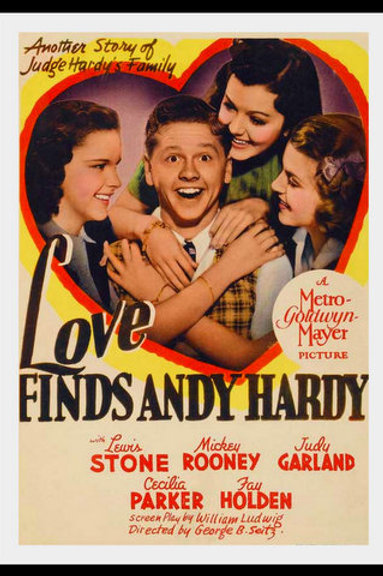O AMOR ENCONTRA ANDY HARDY (Love Finds Andy Hardy,