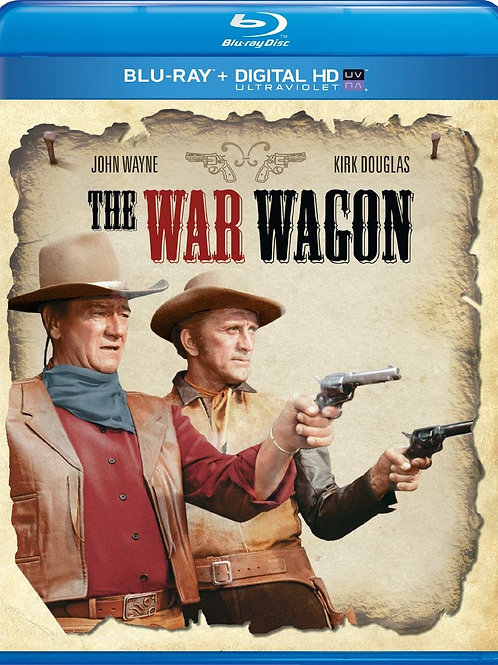 GIGANTES EM LUTA (The War Wagon, 1967)Bluray
