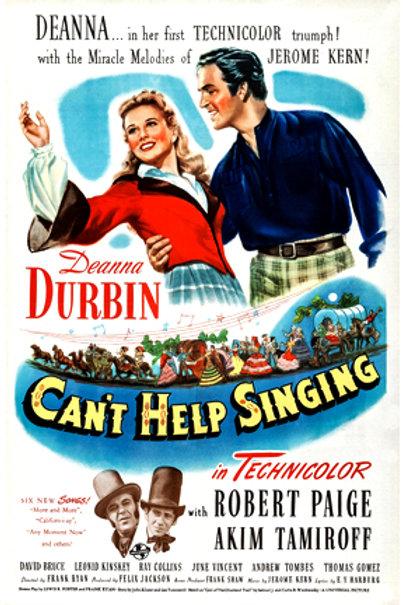 VIVO PARA CANTAR (Can't Help Singing, 1944)