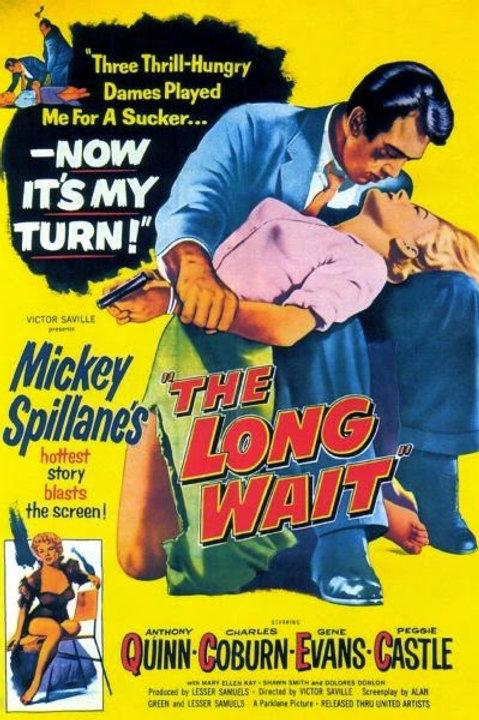 PROCURADO POR HOMICÍDIO (The Long Wait, 1954) - DVD Legendado em português