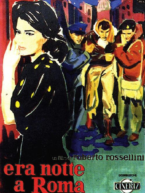 ERA NOITE EM ROMA (Era Notte a Roma, 1960)