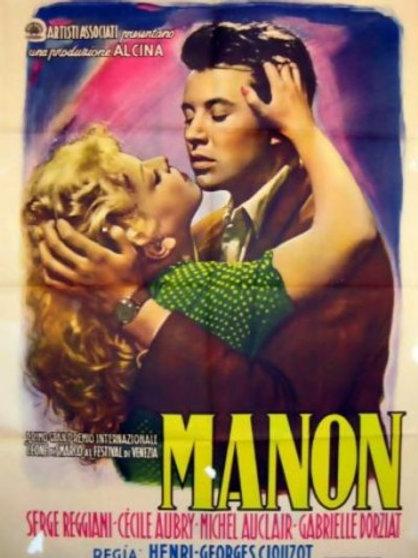 ANJO PERVERSO (Manon, 1949)