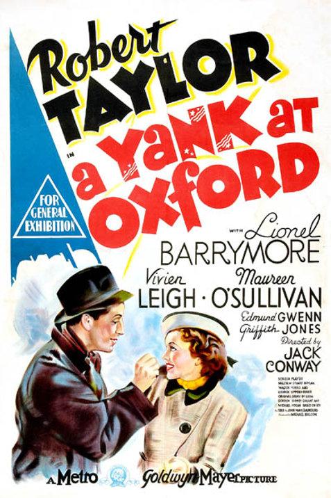 UM YANKEE EM OXFORD (A Yank At Oxford, 1938) blu-ray