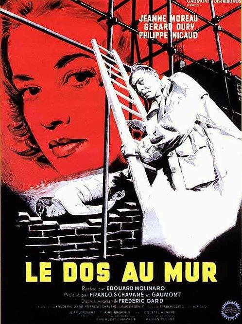 PERVERSIDADE SATÂNICA (Le Dos Au Mur, 1958)