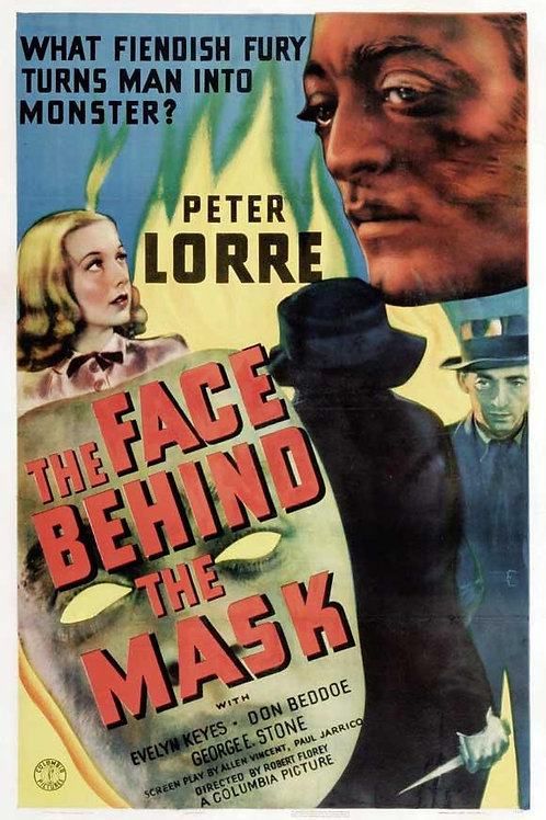 MÁSCARA DE FOGO (The Face Behind The Mask, 1941)