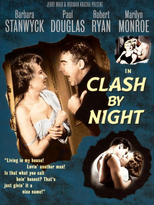 SÓ A MULHER PECA (Clash By Night, 1952)