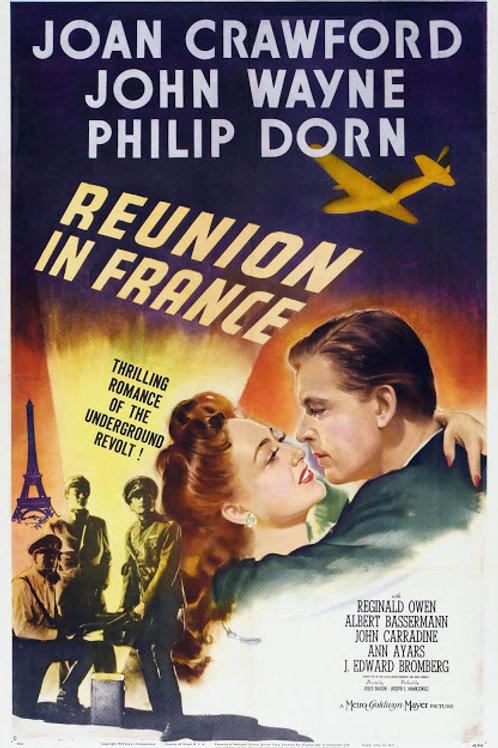 UMA AVENTURA EM PARIS (Reunion in France, 1942)
