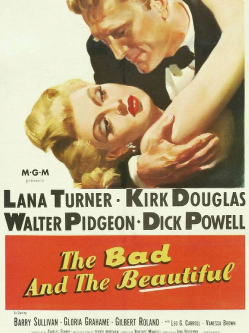 ASSIM ESTAVA ESCRITO (The Bad and The Beautiful, 1952)