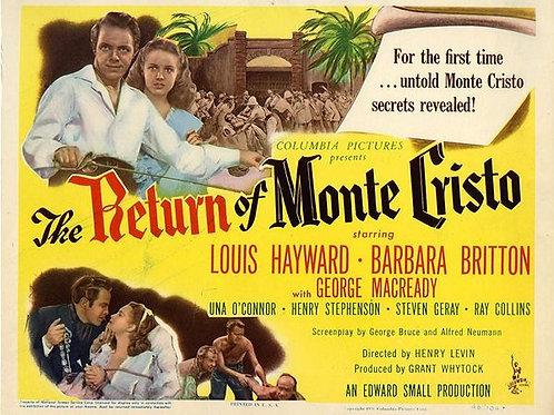 A VOLTA DE MONTE CRISTO (The Return of Monte Cristo, 1946)