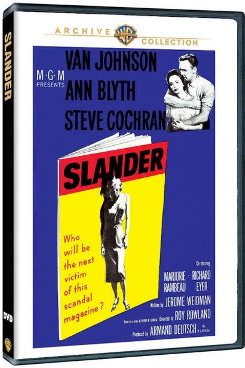 CALÚNIA SANGRENTA (Slander, 1957)