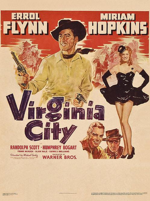 A CARAVANA DO OURO (Virginia City, 1940)